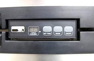 USED NORCOLD INC. REFRIGERATOR MODEL NO.: 1200LRIM S/N: 1356229