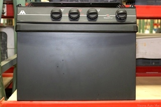 NEW/OLD STOCK RV/MOTORHOME ATWOOD BLACK RANGE OVEN - 3 BURNER - WEDGEWOOD VISION