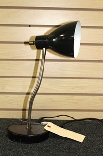 USED INTERTEK BLACK DESK LAMP MODEL: 3191839