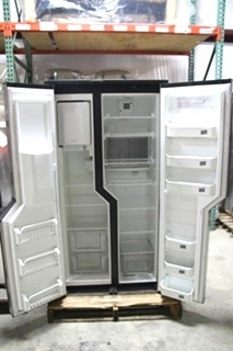 USED RV/MOTORHOME NORCOLD STAINLESS STEEL FRIDGE MODEL: NDA1402 SN: 94800011