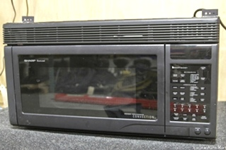 USED RV/MOTORHOME SHARP CAROUSEL CONVECTION MICROWAVE OVEN MODEL: R-1870 SN: 436710