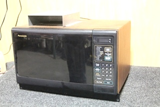 USED RV PANASONIC MICROWAVE MODEL: NN-S546BAV SN: AW619803380