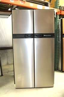 USED NORCOLD STAINLESS STEEL REFRIGERATOR MODEL: 1210IMSS SN: 10012523