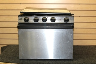 USED ATWOOD WEDGEWOOD VISION STAINLESS RV STOVE PN: R-V1733BSPS
