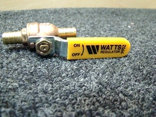 NEW WATTS ON/OFF VALVE  9952 SIZE: 1/2 PRICE: $5.00+ $3.99 SHIPPING