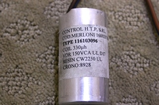 USED SPLENDIDE 2000S WASHER DRYER CONTROL HTP COIL FOR SALE