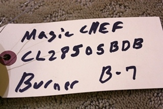 MAGIC CHEF CLZ8505BDB SEALED BURNER FOR SALE