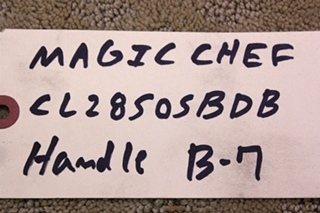 MAGIC CHEF CLZ8505BDB HANDLE FOR SALE