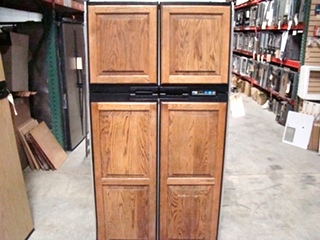 USED RV MOTORHOME NORCOLD FOR SALE | NORCOLD 1200 LRIM WOOD PANEL REFRIGERATOR FOR SALE