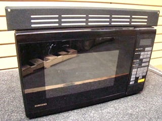 USED RV/MOTORHOME SAMSUNG MW5430R BLACK MICROWAVE OVEN FOR SALE