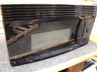 USED RV/MOTORHOME GE PROFILE ADVANTIUM 120 MICROWAVE OVEN  FOR SALE *BLACK*