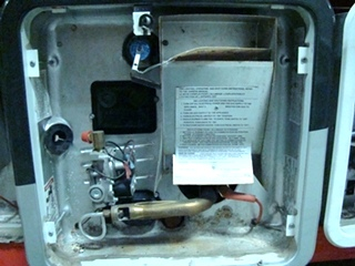 USED SUBURBAN 12,000 BTU RV/MOTORHOME WATER HEATER MODEL: SW16DE