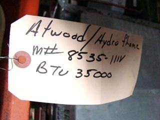 USED RV/MOTORHOME ATWOOD/HYDRO FLAME FURNACE MODEL: 8535-IIIV FOR SALE