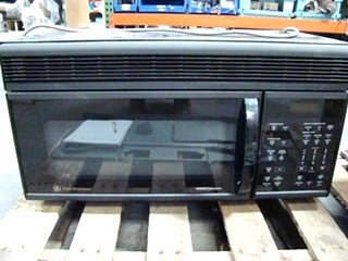 USED RV/MOTORHOME GE PROFILE PERFORMANCE BLACK MICROWAVE FOR SALE