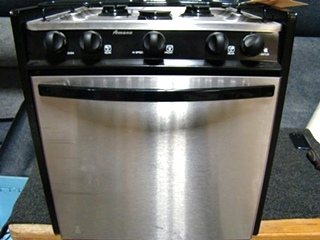 USED RV/MOTORHOME AMANA STAINLESS 3 BURNER OVEN
