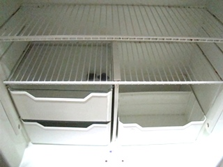 USED RV MOTORHOME NORCOLD REFRIGERATOR  FOR SALE | 1200 LRIM REFRIGERATOR (WOOD PANELS)