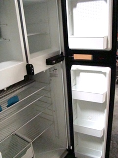 USED RV MOTORHOME REFRIGERATOR FOR SALE | NORCOLD 1200LRIM (WOOD PANEL)