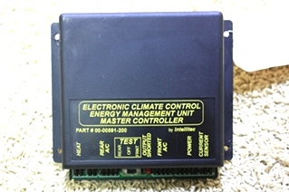 USED ELECTRONIC CLIMATE CONTROL MANAGEMENT UNIT MASTER CONTROLLER 00-00591-200 FOR SALE