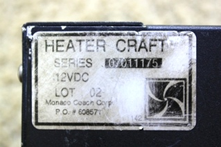 USED RV / MOTORHOME AQUA HOT PARTS HEATER CRAFT HEAT EXCHANGER FOR SALE