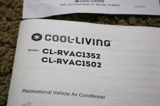 RV / MOTORHOME 15,000 BTU RV AIR CONDITIONER FOR SALE