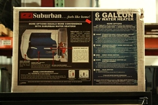 RV SUBURBAN SW6DE WATER HEATER MOTORHOME APPLIANCES FOR SALE