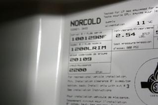 USED RV NORCOLD REFRIGERATOR 1200LRIM FOR SALE