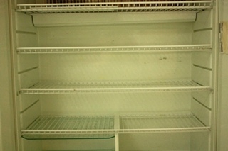 USED NORCOLD STAINLESS 1200LRIM RV REFRIGERATOR FOR SALE
