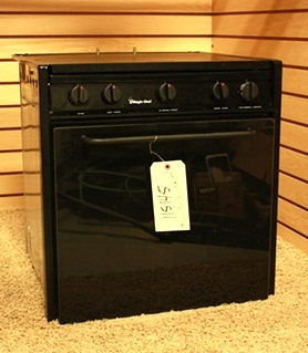 USED RV MAGIC CHEF 3 BURNER OVEN CLY2242BDB MOTORHOME APPLIANCE FOR SALE