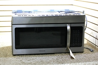 USED RV FRIGIDAIRE MICROWAVE OVEN FFMV154CLSA FOR SALE