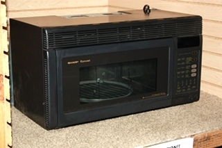 USED RV SHARP CAROUSEL CONVECTION R-1850A MOTORHOME APPLIANCES FOR SALE