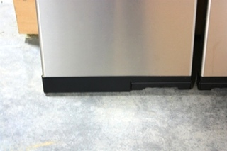 USED RV NORCOLD 1200LRIM STAINLESS REFRIGERATOR DOORS FOR SALE