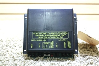 USED RV ELECTRONIC CLIMATE CONTROL ENERGY MANAGEMENT UNIT MASTER CONTROLLER 00-00591-200 FOR SALE