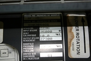 USED RV SF-35 SUBURBAN 35,000 BTU FURNACE FOR SALE