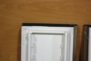 RV DOMETIC ELITE 2+2 STAINLESS REPLACEMENT REFRIGERATOR DOORS FOR SALE