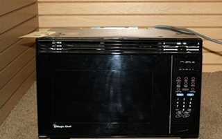USED RV MAGIC CHEF MICROWAVE OVEN MCO2212ARB FOR SALE