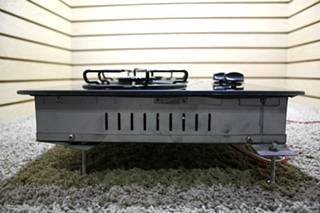 USED PRINCESS GOURMET 2277-1000 2 BURNER GLASS COOK-TOP RV APPLIACES FOR SALE