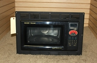 USED RV SHARP GRILL 2 CONVECTION MICROWAVE OVEN R-820BK-F FOR SALE