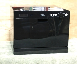 WESTLAND VESTA DWV322CB COUNTER TOP DISHWASHER RV APPLIANCES FOR SALE