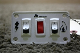 USED MOTORHOME ATWOOD WATER HEATER SWITCH PANEL FOR SALE