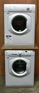 RV APPLIANCE STACKABLE WASHER AND DRYER SET BY SPLENDIDE FOR SALE