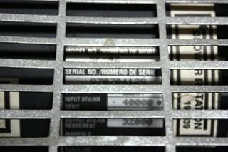 USED MOTORHOME 40,000 BTU FURNACE SUBURBAN SF-42 RV APPLIANCE FOR SALE