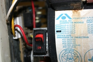 USED MOTORHOME ATWOOD 8520-IV-DCLP FURNACE FOR SALE