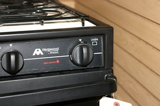 USED WEDGEWOOD BY ATWOOD 3 BURNER OVEN R-W1730WGP RV APPLIANCE FOR SALE