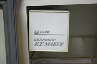 USED RV U-LINE BI95 REFRIGERATOR AND/OR FREEZER FOR SALE