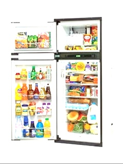 NEW MOTORHOME NXA841L NORCOLD TWO DOOR REFRIGERATOR FOR SALE