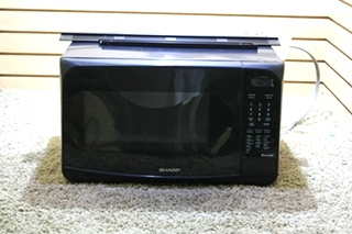 USED MOTORHOME SHARP CAROUSEL MICROWAVE OVEN R-308HK FOR SALE