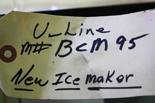 USED U-LINE BCM95 ICE MAKER RV APPLIANCES FOR SALE