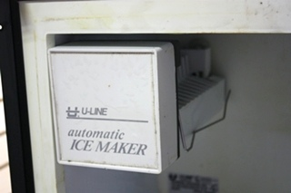 USED BCM95 U-LINE REFRIGERATOR/FREEZER MOTORHOME APPLIANCES FOR SALE