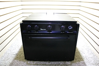 USED RV MAGIC CHEF 3 BURNER OVEN CLY1632BDB FOR SALE
