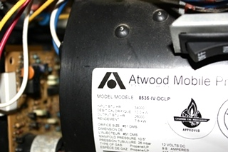 USED ATWOOD 34,000 BTU FURNACE 8535-IV-DCLP MOTORHOME APPLIANCES FOR SALE